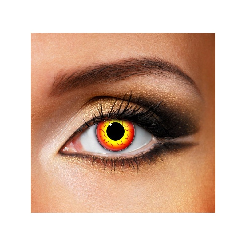 Orange Werewolf Eye (Funky EDIT)