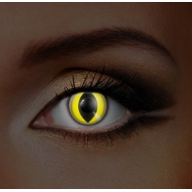 i-Glow Yellow Cat UV Eye (Funky EDIT)
