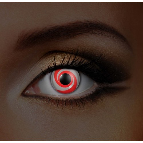 i-Glow Red Swirl UV Eye (Funky EDIT)