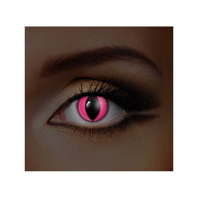 i-Glow Red & Black Checkers UV Eye (Funky EDIT)