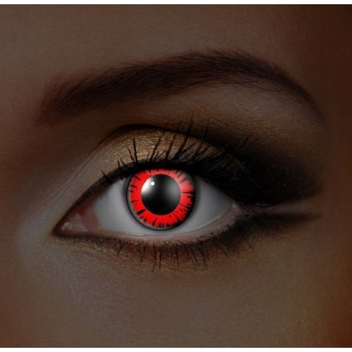 i-Glow Dolly Eye Red UV Eye (Funky EDIT)