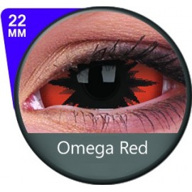 Omega Red 22mm Sclera (Colour Vue)