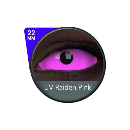 UV Raiden Pink 22mm Sclera (Colour Vue)